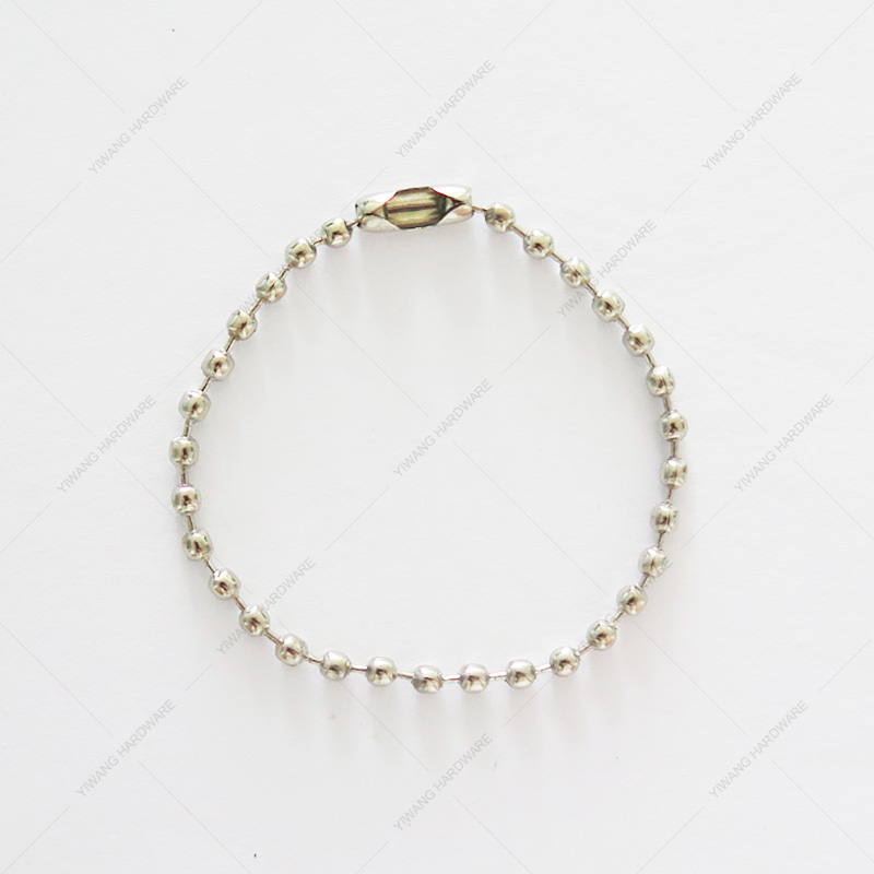 Silver Practical New Design Bead Chain 2.4x100MM Ball Chain