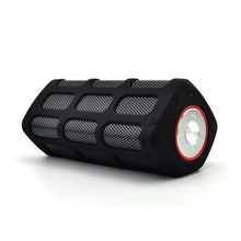 New portable outdoor waterproof stereo high end bluetooth speaker with power bank and NFC function-RS7720
