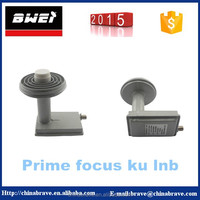 HD KU band prime focus lnb with super high gain low noise for weak signal area lnb premium hd