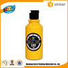 180ML Hot sale Yellow acrylic paint custom bottle acrylic latex spray paint