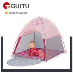 kids play camping tent/ kids indoor play tents/ pink camping tent