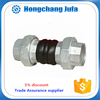 High temperatuer twin sphere threaded expansion bellows joint