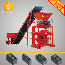 Energy saving QTJ4-35 brick making machine in Uganda small profitable machine