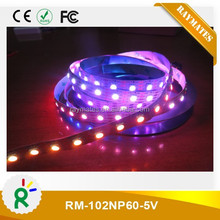 digital led strip 5050rgb apa102 30/32/48/60/72/144 leds white/black PCB