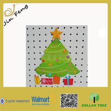 Custom Manufacture Christmas Tree Coated Paper Fridge Magnet For Sale/Laminated Paper Fridge Magnet