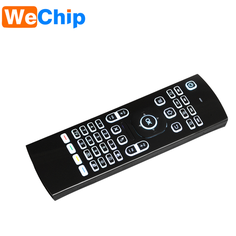 Flying Mouse Backlit Mouse MX3 For Pc Android Tv Box Remote Control 2.4G Wireless