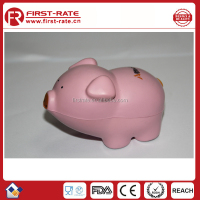 Promotional Pig cartoon PU stress ball