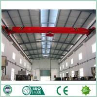 China supplier Overhead crane price 5 ton,single girder overhead crane for sale
