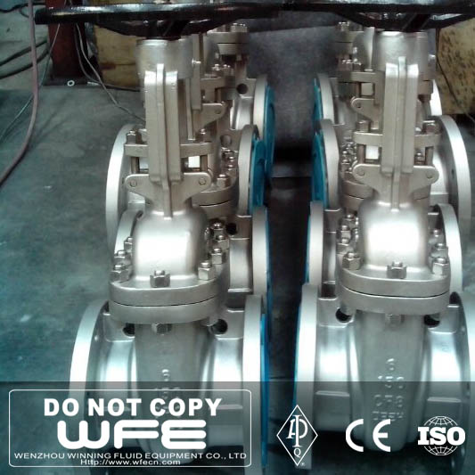 6 inch CF8 Stainless Steel Flanged OS&Y Gate Valve