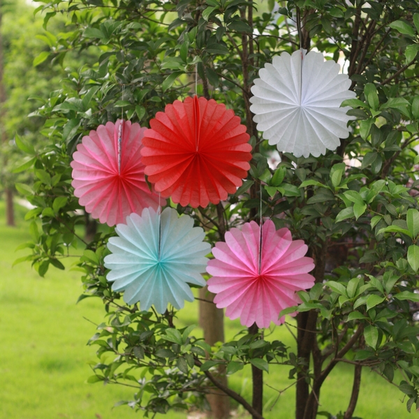 Church Wall Decoration new design church wall decorations with paper fan - buy church