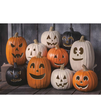 2018 best price lowest delivery fee pumpkin lantern, jack o lantern ,led halloween decorative pumpkin light,plastic pumpkin