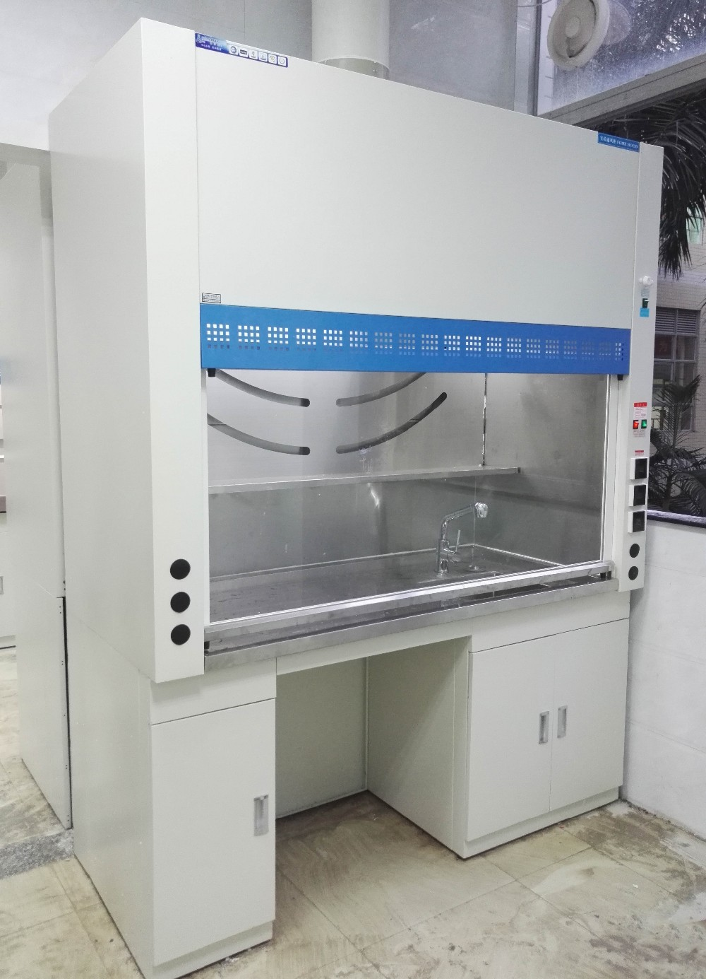 SFS Laboratory clean bench fume hood with hepa filter fume filter
