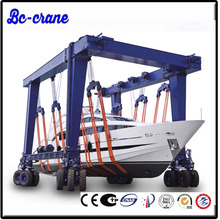 boat lifting gantry container carrier crane
