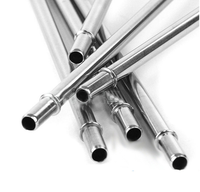 Eco Friendly Stainless Steel Straw Set