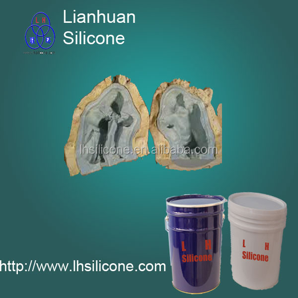 rtv-2 silicone for polyurethane decorative,GRC, concrete, Sculpting / Wax Casting
