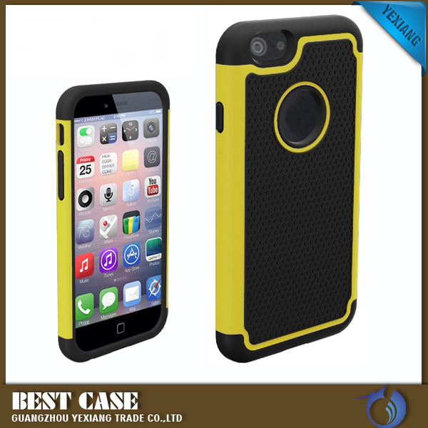 2016 High Quality Shockproof PC+TPU+Sillicon Hybrid Cover For Iphone 5 Case