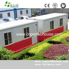 Prefab shipping container house for sale prebuilt concrete house wearhouse