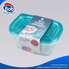 2018 Hot selling pp take away food containers plastic food storage containers plastic lunch box microwave