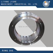 Vertical circular mould/circular mold stainless steel forging die to wood pellet machine making pellet for fuel usage