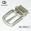 30mm New pin belt buckles for men screw reversible metal buckle manufacturer ODM ZK300212