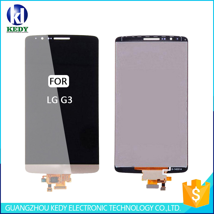 Ali Express China Tested LCD Touch Display Digitizer Frame Assembly replacement LCD Screen for LG G3