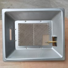 Large heated area infrared ceramic chicken house gas heaters