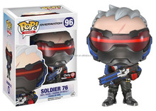 Gzdonnafashion Funko Pop Overwatch #96 Sodier 76 PVC Action Figure
