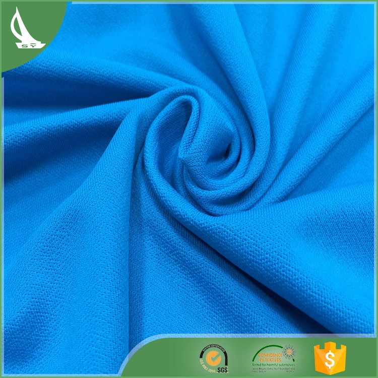 Good Quality Polyester Spandex Stock Lot Fabric With SGS Certification