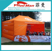 Advertising 3x4m flat top folding canopy tent