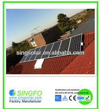10KW on-grid solar home system connect with utility/public grid/10kw home solar power system
