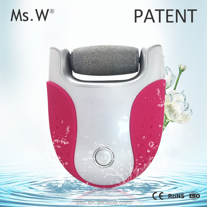 Ms.W Rechargeable Pedicure Foot File Wet Dry Callus Remover