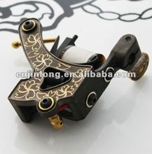 Luo's Brozne Tattoo Machine &Precision Wire Cutting