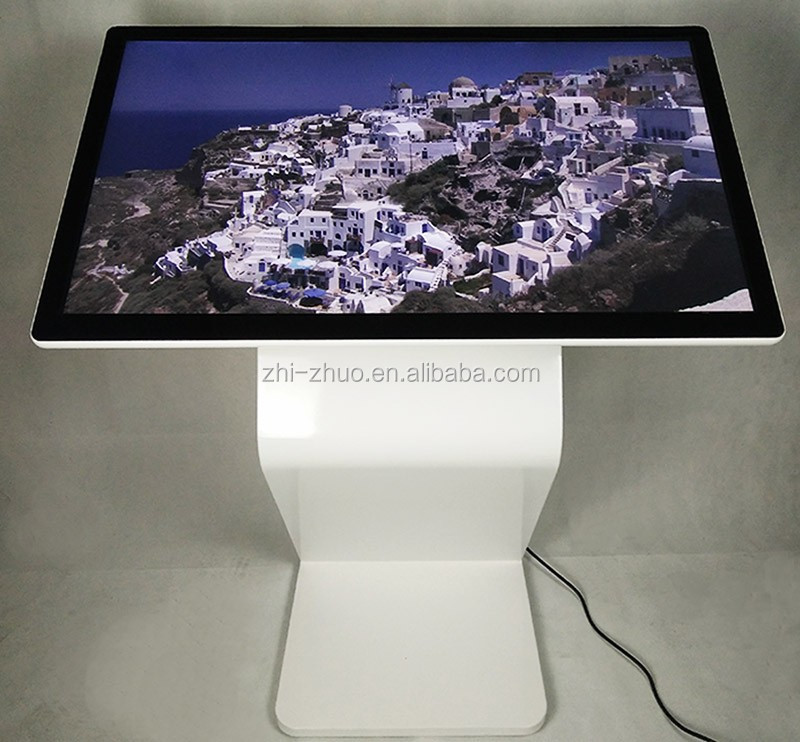 42 inch 4g interactive customized wireless stand digital signage
