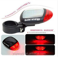hot!!Solar taillights bicycle led light