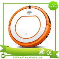 Amazon Hot Selling Home Or Office INK-330 Orange Robot Automatic Vacuum Floor Cleaner