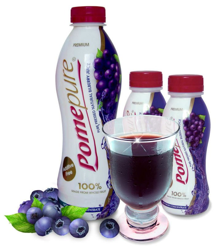 Pure Blueberry Juice - Pressed 100% Natural