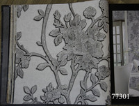 Fire resistance thick vinyl wallpaper made in Shandong