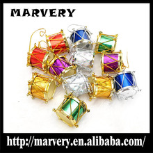 Wholesale factory christmas tabour pendant,lowest price christmas decorations products