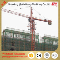 used tower crane,tower crane spare parts, double slewing motor 5t max load 1t jib tip load types of tower crane