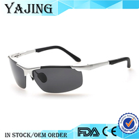 YAJING Wholesale High Quality Alloy Frame Day And Night Glasses Goggles Polarized Sunglasses Vintage Driving Eyewear