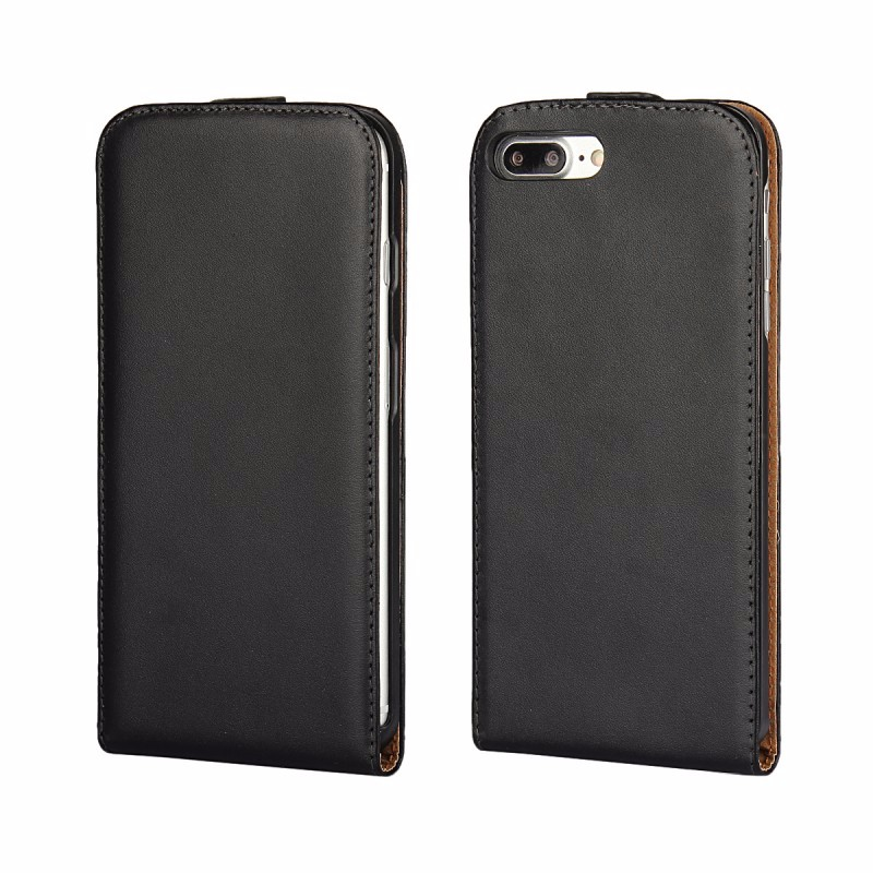 Mobile Phone Accessories Funda Coque Vertical Flip Cover for iPhone 4/4S 5/5S/SE 5C 6/6s 6/6s Plus 7 7 Plus Leather Case