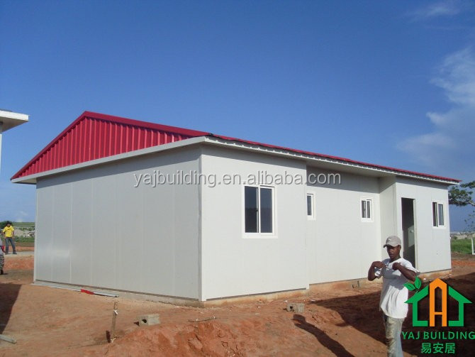 Factory Supply Light steel frame pre fab house