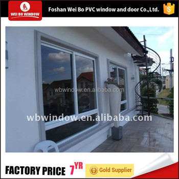 Cheap house window for sale,pvc material interior sliding window for house