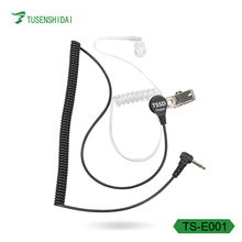 Two way Radio Headphones 3.5mm 1Pin Walkie Talkie earphone Transceiver headset For TS-E001