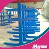 Heavy duty warehouse storage cantilever arm rack