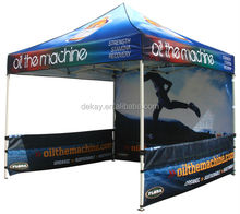3x3m screen printed pop up canopy tent outdoor marquee party tent
