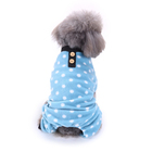 Light Blue Soft Doggy Suit for Puppy
