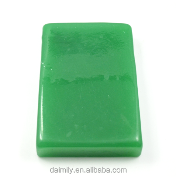 rough gemstone raw material green jade bead material