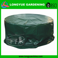 Hot selling PE plastic outdoor furniture waterproof cover