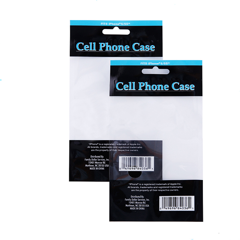 Custom Printing Self Adhesive Seal Plastic OPP Packaging Bag with Header for Cell Phone Case